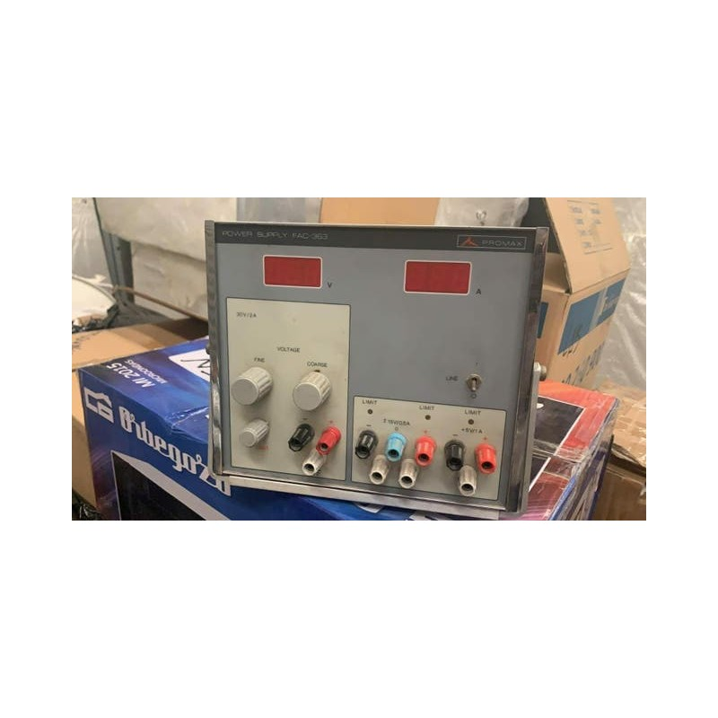 promax power supply fac 363