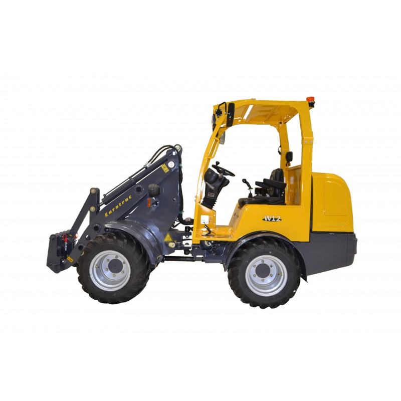 Eurotrac w12 lateral
